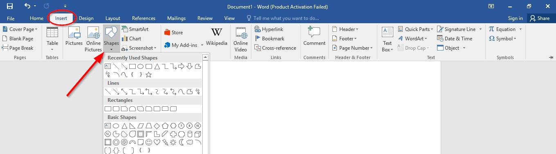 Hướng dẫn nhanh cách chèn ảnh vào khung hình có sẵn trong Word