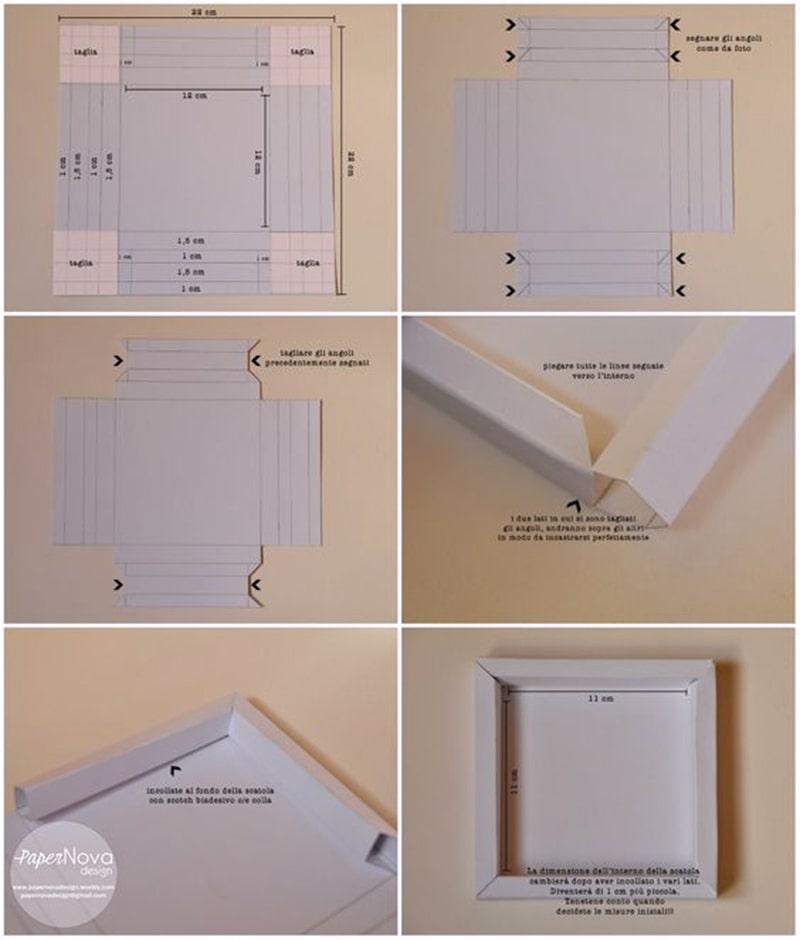 Hướng dẫn bí quyết cách làm khung ảnh treo tường bằng giấy đơn giản nhất