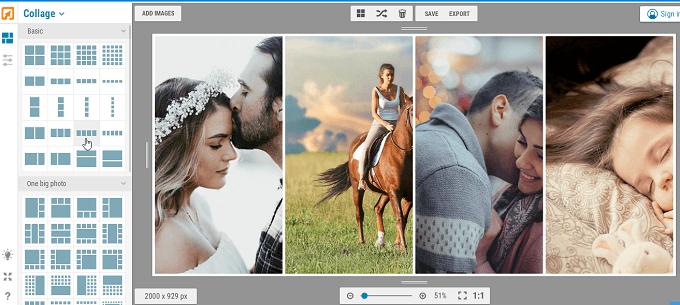 Hướng dẫn dùng ứng dụng ghép ảnh online