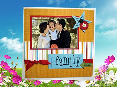 Khung ảnh family