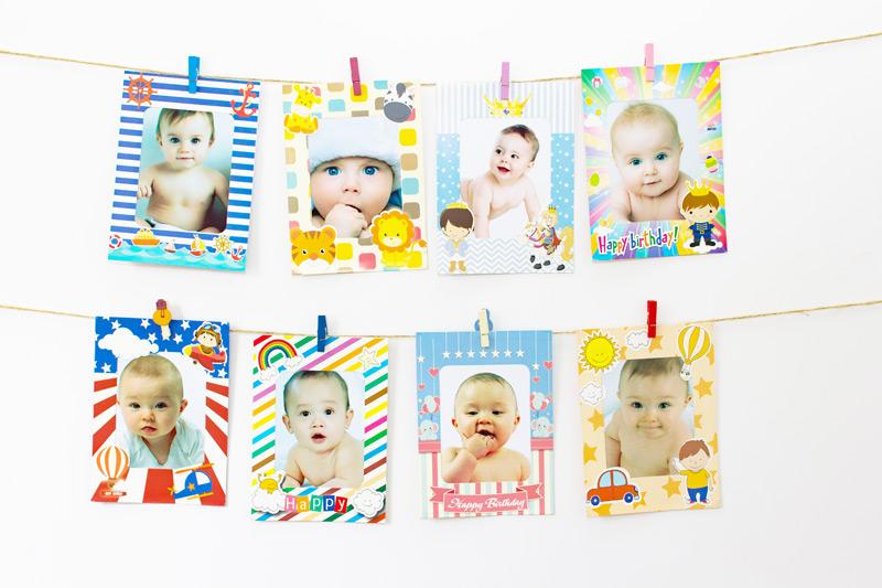 Cập nhật tất cả các khung hình sinh nhật cho bé xinh nhất 2020