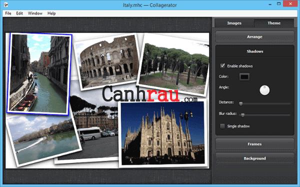 Phần mềm ghép ảnh cho máy tính và điện thoại hình 4