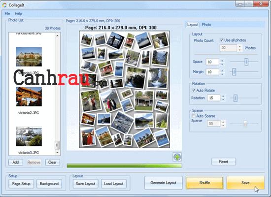 Phần mềm ghép ảnh cho máy tính và điện thoại hình 5