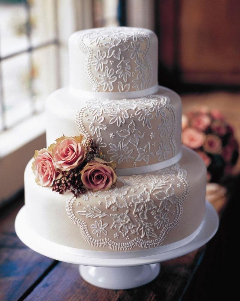 Top 10 mẫu bánh kem đám cưới đẹp và ấn tượng nhất năm 2018