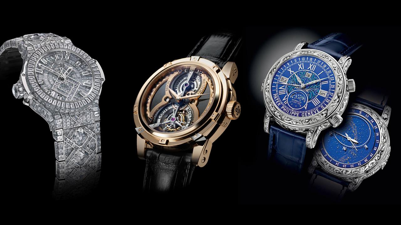 Những mẫu đồng hồ đắt nhất thế giới
