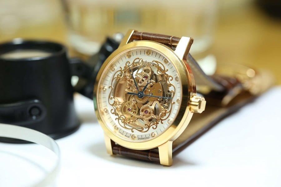 Đánh giá đồng hồ ogival skeleton một thương hiệu đến từ Thụy Sĩ