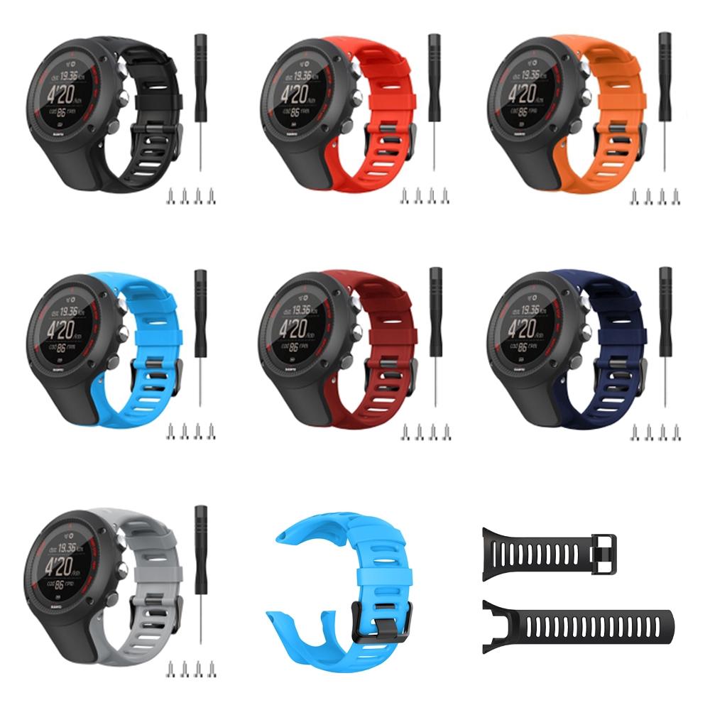 Dây đeo silicone thay thế màu trơn thời trang cho đồng hồ thông minh Suunto  Ambit 1/ Ambit 2/ Ambit 3   Shopee Việt Nam