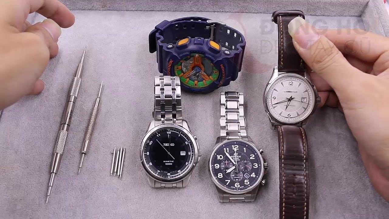 Hướng dẫn cách tháo đồng hồ đeo tay tại nhà hiệu quả
