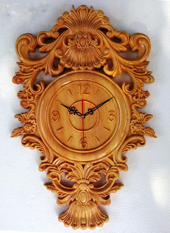Hút mắt với những mẫu đồng hồ khắc gỗ - gia công Cnc giá rẻ