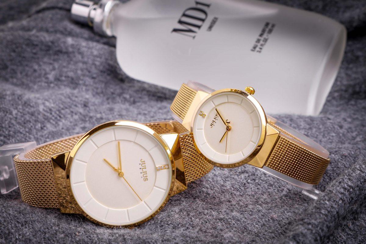 Ngắm nhìn những mẫu đồng hồ đôi chính hãng Julius đẹp nhất cho các cặp đôi