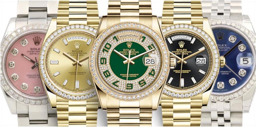 Bộ sưu tập đồng hồ Rolex nữ đính kim cương