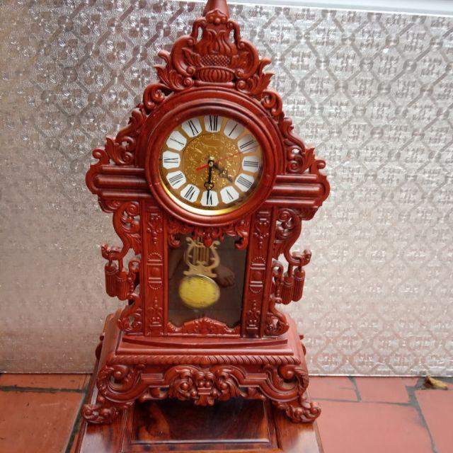 Đồng hồ quả lắc làm bằng gỗ gõ đã được lắp Đồng hồ và quả lắc   Shopee Việt  Nam